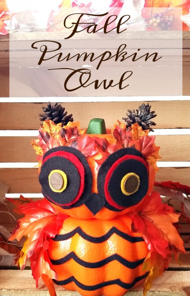 Fall Pumpkin Owl