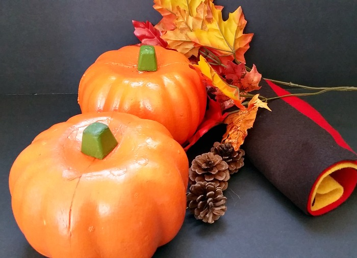 Fall pumpkin owl supplies