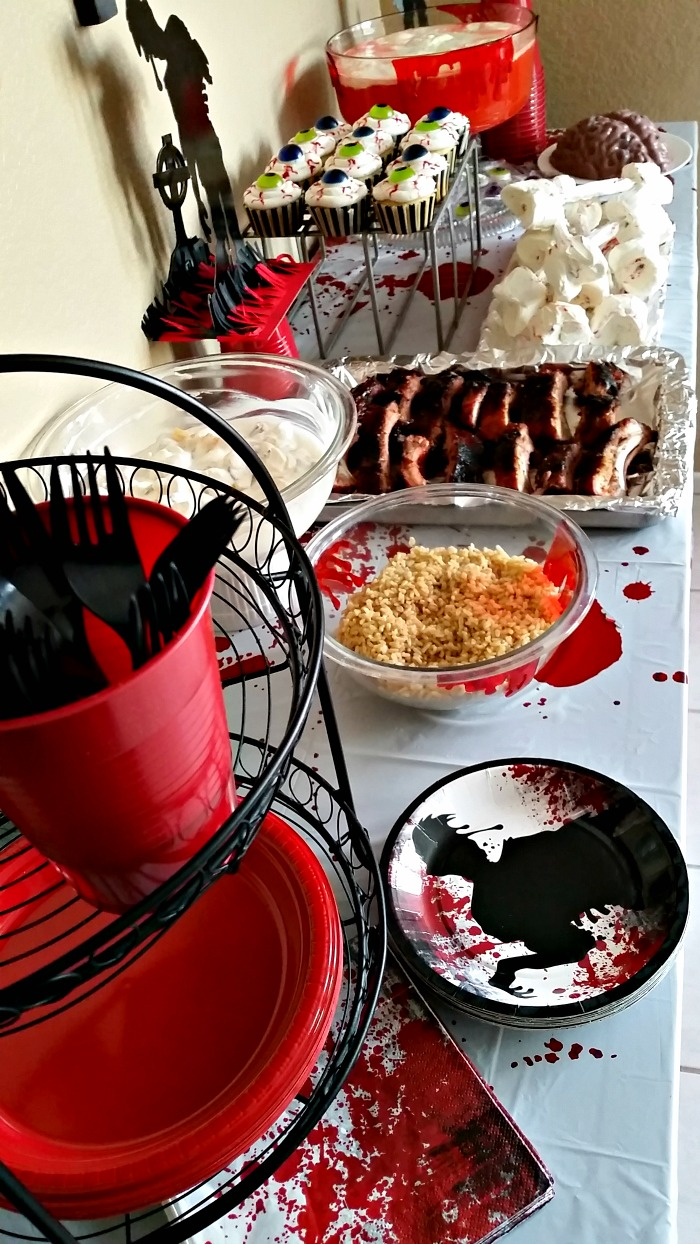 Walking Dead Party Food