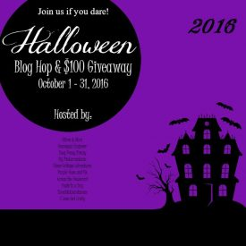 2016 Halloween Blog Hop & $100 Cash Giveaway!