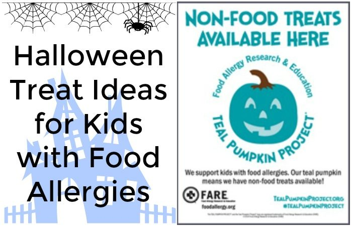 Teal Pumpkin Project and Non-food Halloween Treat Ideas