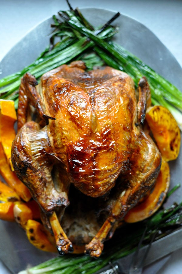 Mexican Lime-Poached and Roasted Turkey