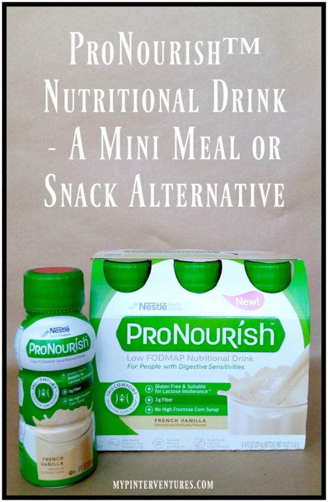ProNourish™ Nutritional Drink - A Mini Meal or Snack Alternative