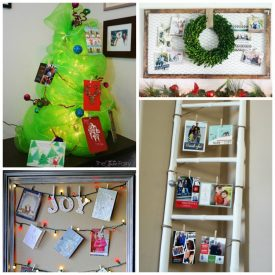 12 Days of Christmas Ideas – DIY Christmas Card Displays