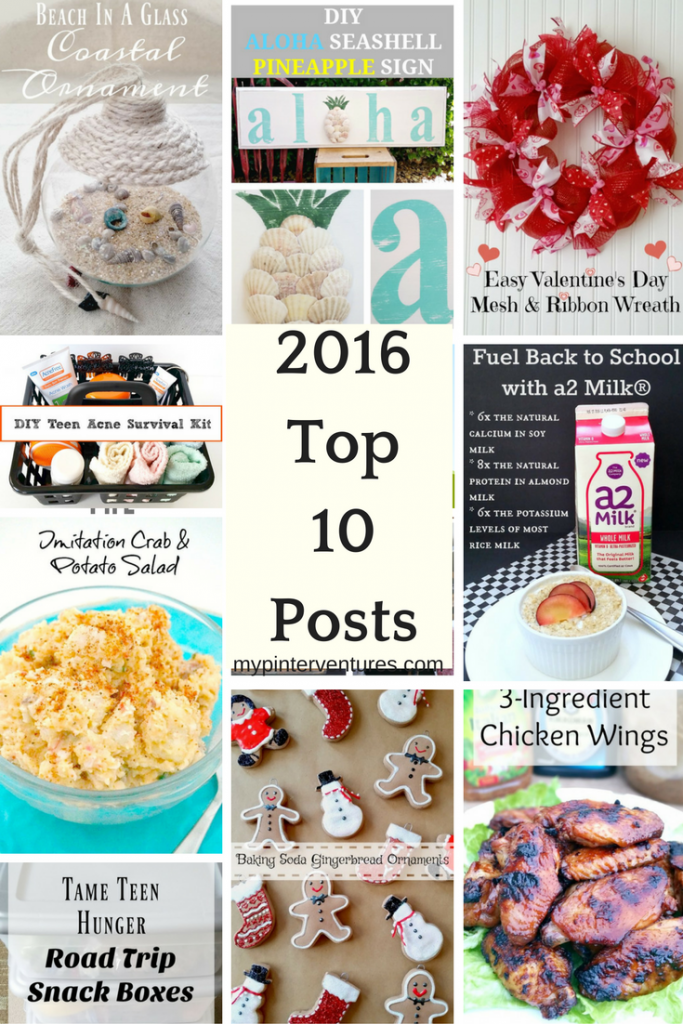 2016 Top 10 Posts on My Pinterventures