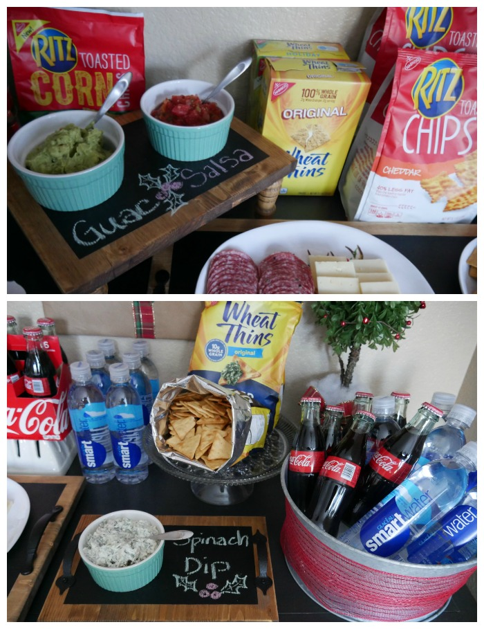 Coca-cola & Ritz chips