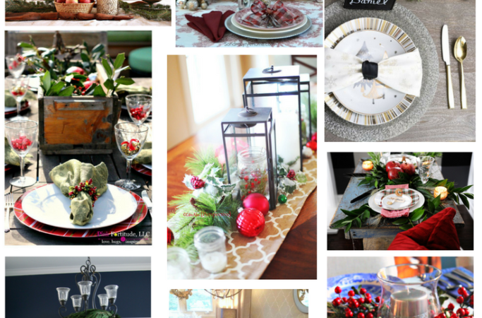 12 Days of Christmas Ideas – Christmas Tablescapes for Every Style