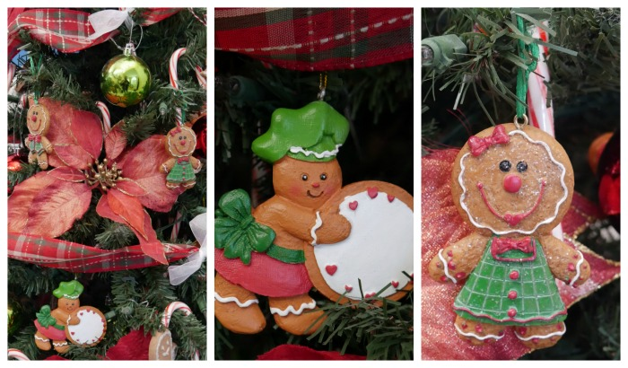 Gingerbread Christmas Tree Ornaments