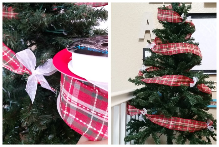 Gingerbread Christmas Tree ribbon