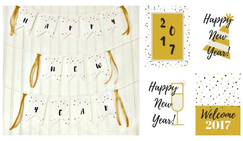 FREE New Year Printables – Happy New Year 2017!