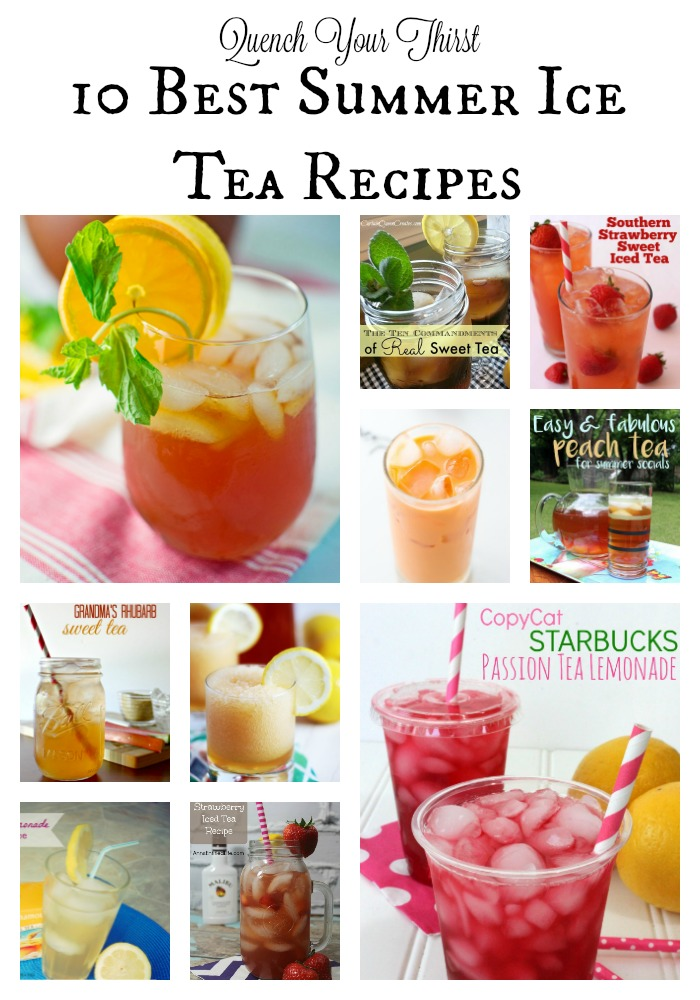 Quench your thirst 10 best summer ice tea recipes for California iced tea recipe