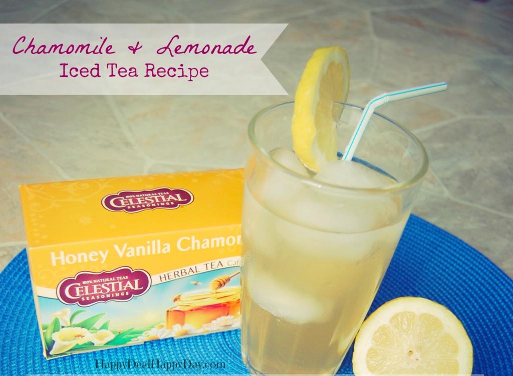 Chamomile Lemonade Iced Tea
