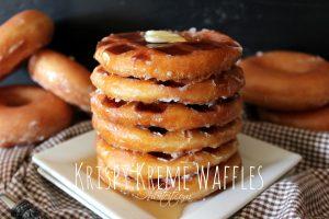 Krispie Creme Doughnuts