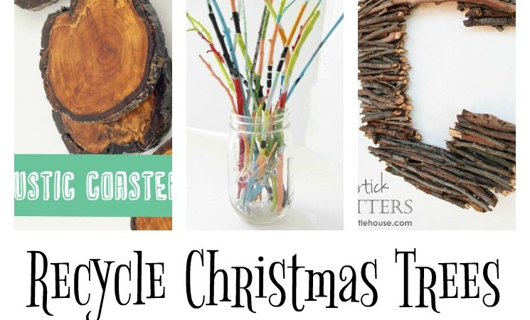 Recycling Christmas Trees – 20 Awesome Craft Projects