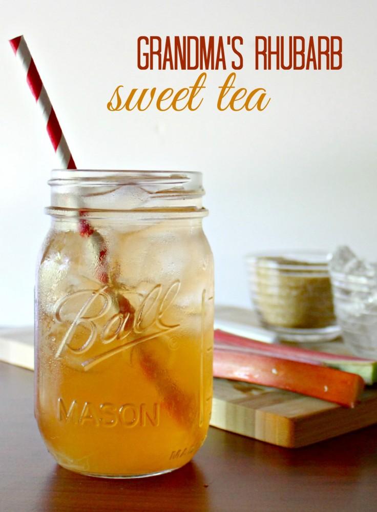 Rhubarb tea recipe