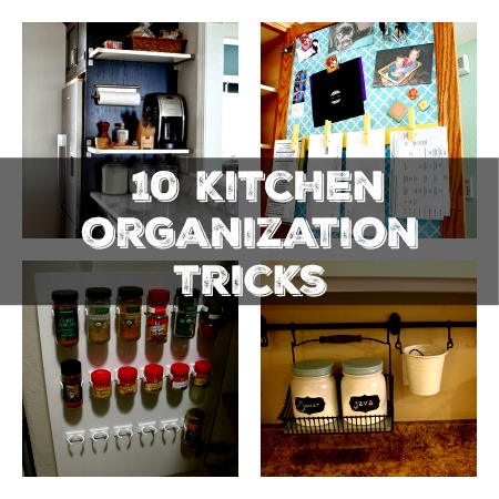 10 Kitchen Organization Tricks