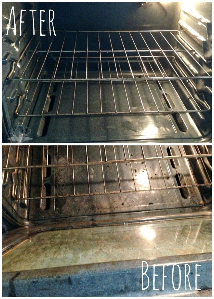 How to clean the oven with 3 household ingredients
