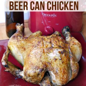 Merry Monday Link Party #137 – Slow Cooker Beer Can Chicken Feature