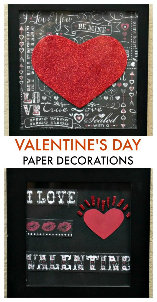 Easy Valentine's Day Paper Decorations