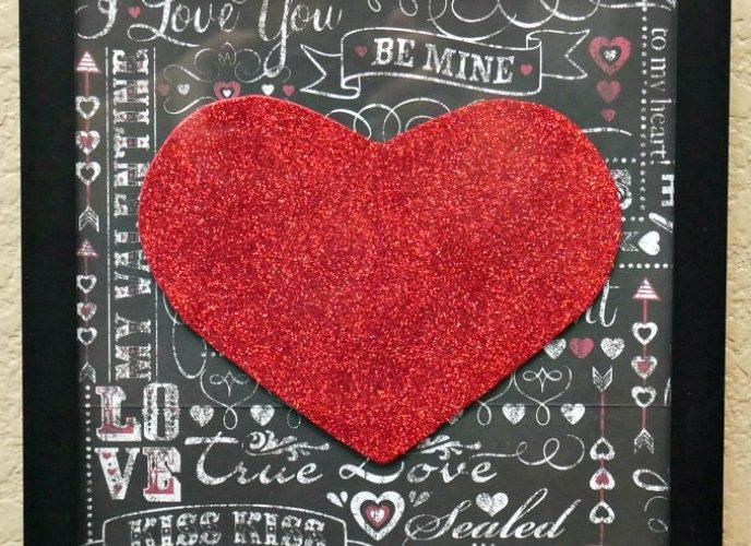 Easy Valentine's Day Paper Decorations – Craft Destash