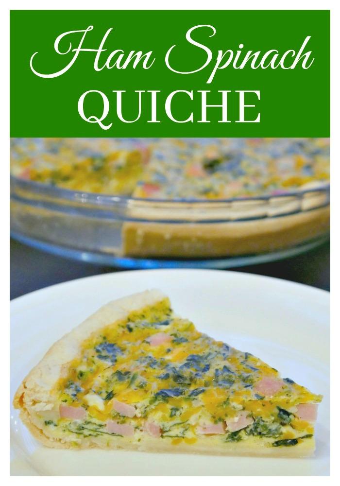 Ham Spinach Quiche