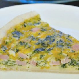 Simply Delicious Ham Spinach Quiche – Easy Meal