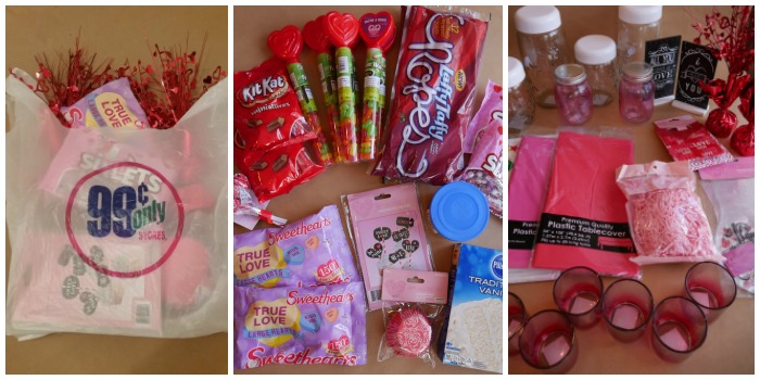 Valentine's Day Candy Buffect