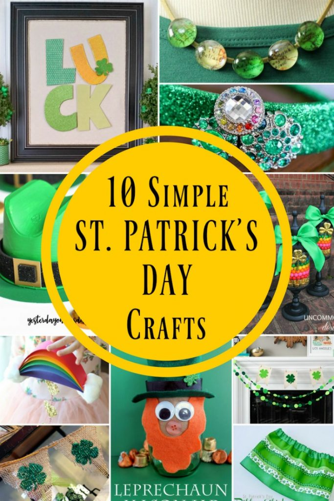 10 Simple St. Patrick's Day Crafts