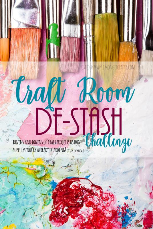 Craft Room De-stash Challenge