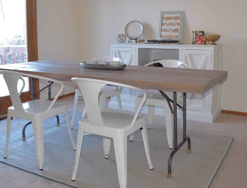 Folding Table into a dining table