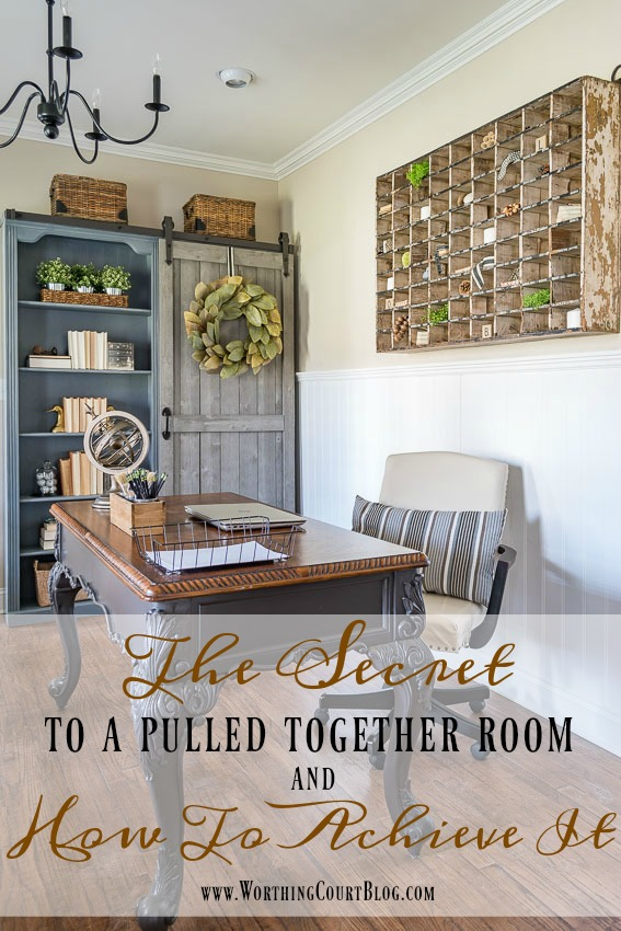 The Secret to a Pulled Together Room