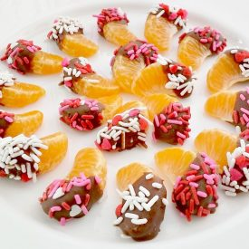 Chocolate Dipped Mandarin Orange Slices – A Sweet Halos Treat