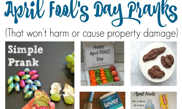 10 Family Friendly April Fool's Day slider