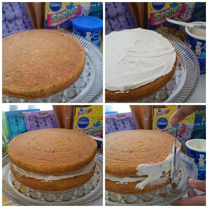 Frost Easter Basket Cake