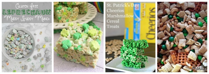 St. Patrick's Day Cereal Treats