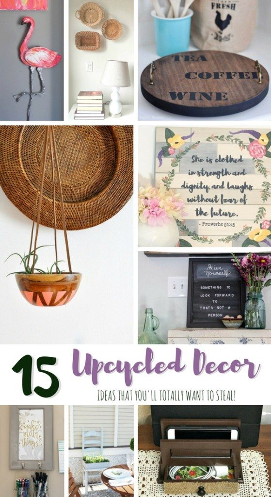 Upcycled Decor Ideas