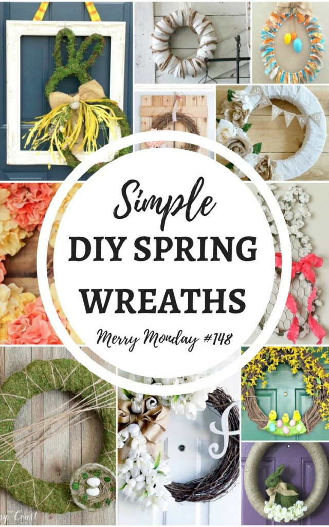 12 Simple DIY Spring Wreaths