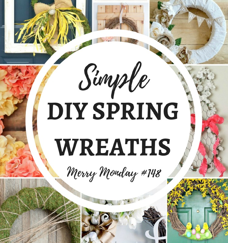 Simple DIY Spring Wreaths