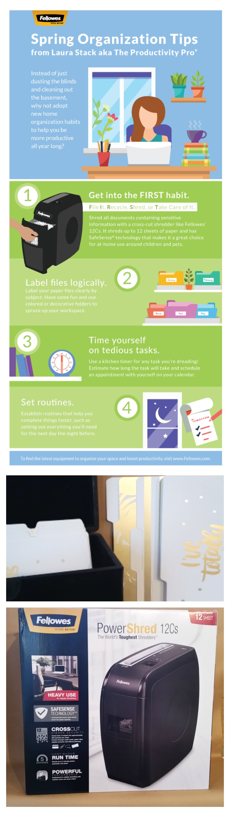 4 organization habits