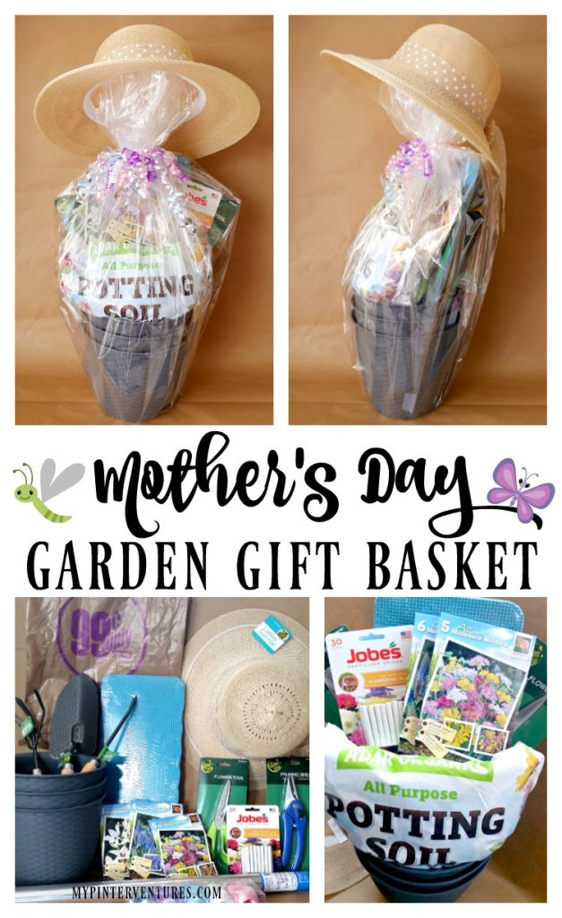 Create a Mother's Day Garden Gift Basket for about $25!
