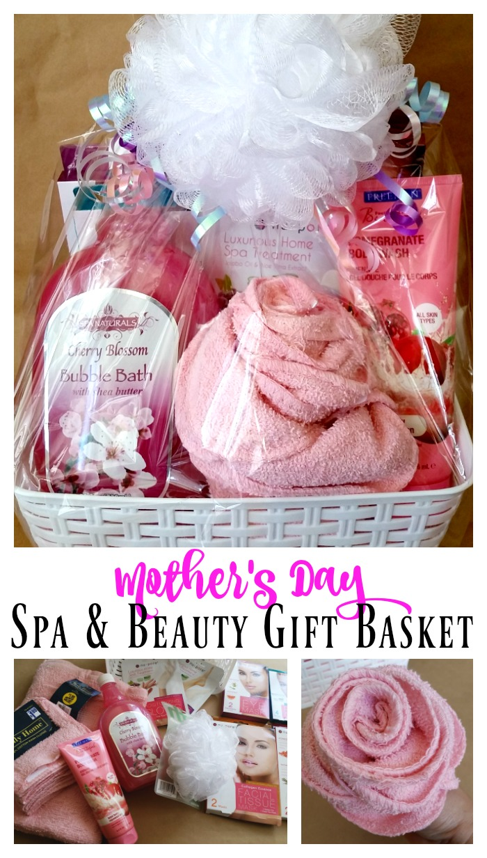 Mother's Day Spa & Beauty Gift Basket