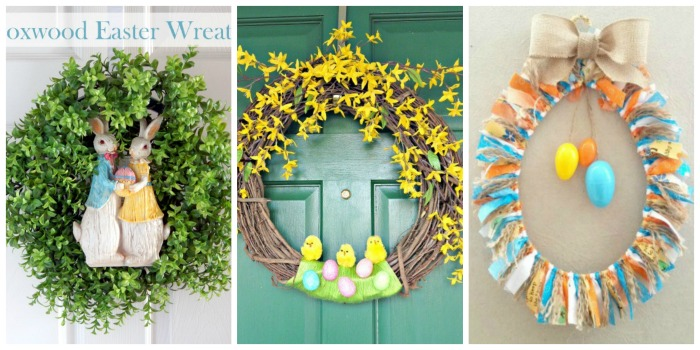 Simple DIY Spring Wreaths 4