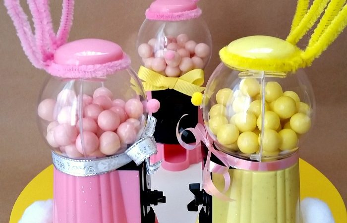 5-minute Mini Bubblegum Machine Bunny with Video