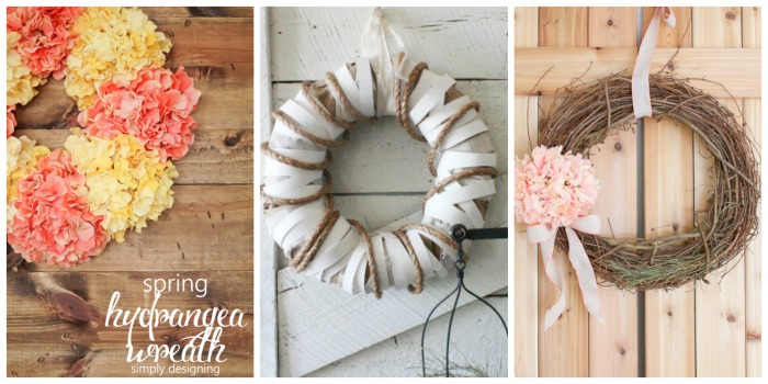Simple DIY Spring Wreaths 3