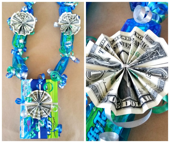 tie on money flower