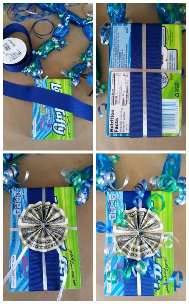 Wrap candy box