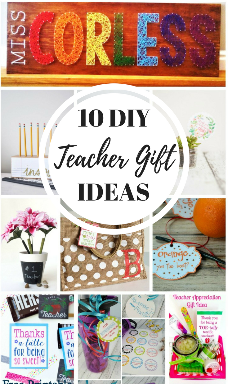 10 DIY Teacher Gift Ideas