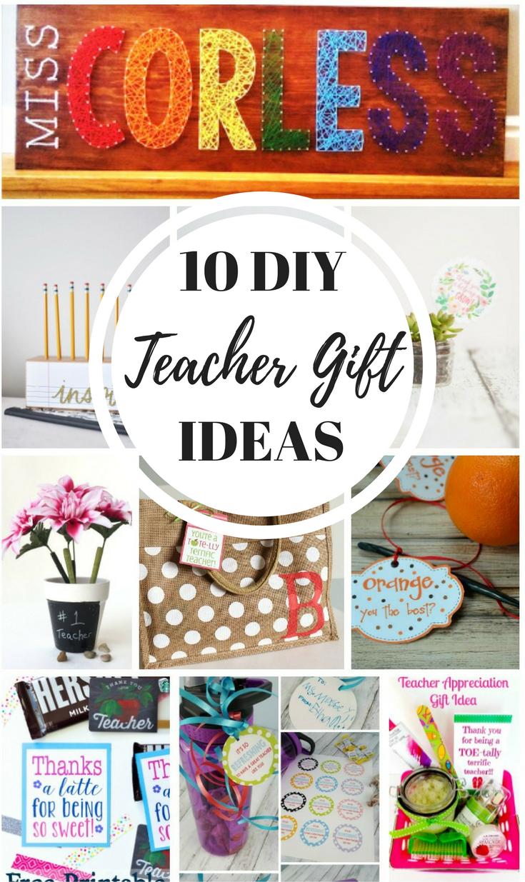 4 Year Boy Bedroom Decorating Ideas: 10 Simple DIY Teacher Gift Ideas