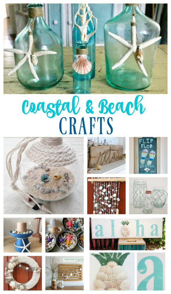 DIY Coastal Beach Themed Crafts