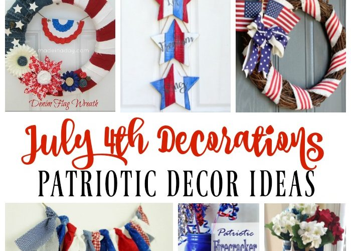 July 4th Decoration Ideas – Patriotic Decor